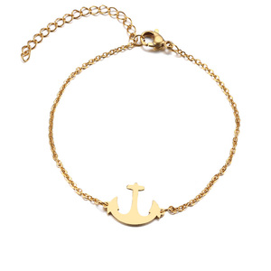 Anchor Pulseira Lover's Engagement Jewelry