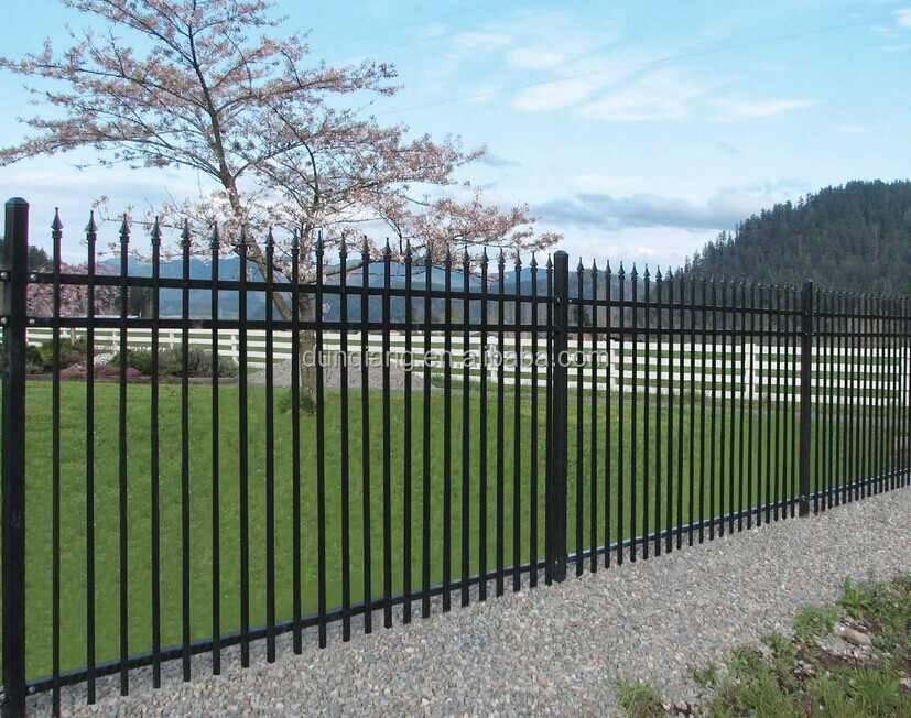 Iron FencingOrnamental Wrought Fence Designs Front