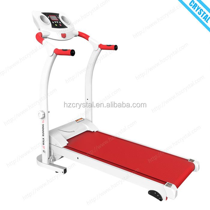 SJ-M5 Cheap price home fitness running machine mini electric impulse treadmill, Red&white