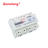 Rf Remote Control Three Phase Four Wire Din Rail Zigbee Smart Electricity Meter