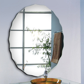 Huacheng decoration silver aluminum mirror glass bathroom furniture
