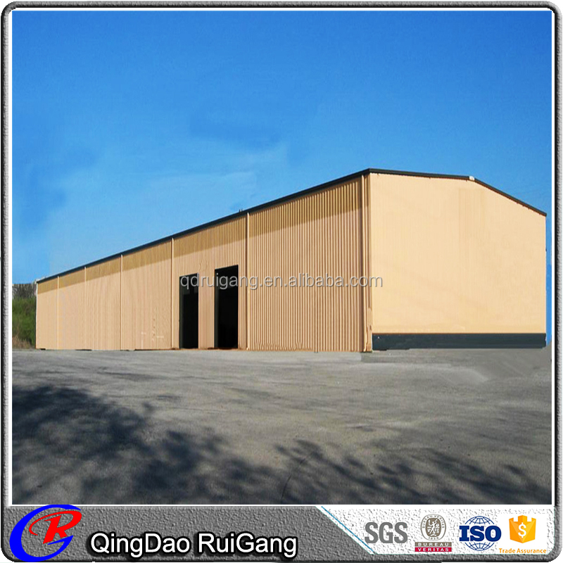 Prefabricated steel structure design commercial metal building barn
