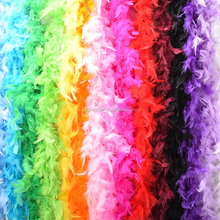 PM-009 wholesale 2 meters Marabou Feather Boa For Party Decoration