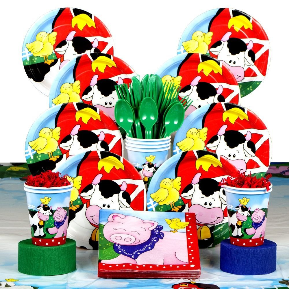 Get Quotations Farm Friends Barnyard Birthday Party Supplies