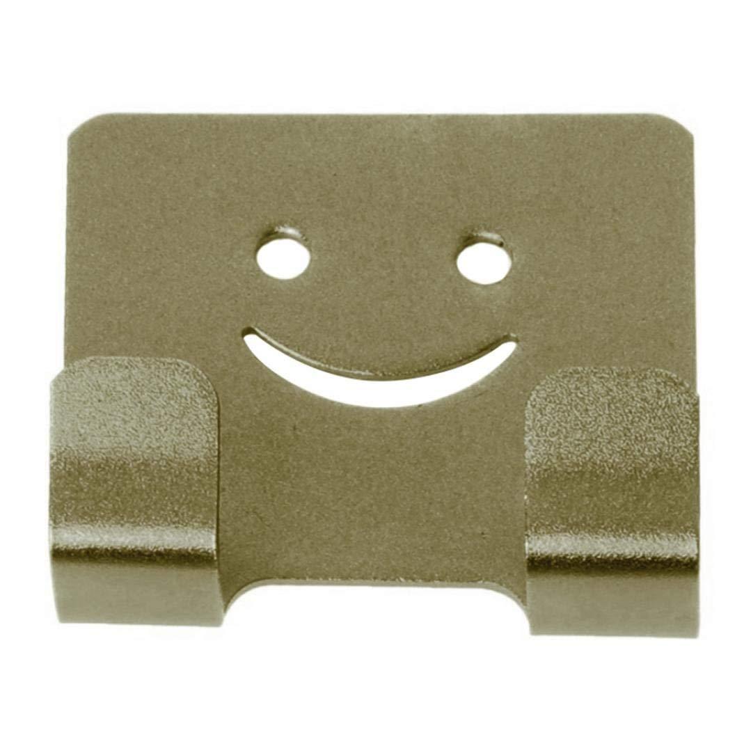 Mosichi Self Adhesive Hook Heavy Duty Door Wall Mount Sticky Hanger Kitchen Organizer (Bronze)