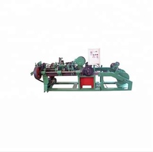 Automatic Double Stranded Twisted Barbed Wire Mesh Making Machine