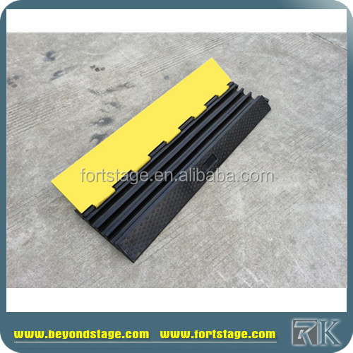 Rubber Floor Cable Protector/cable Floor Cover Protector/electric Wire Cover