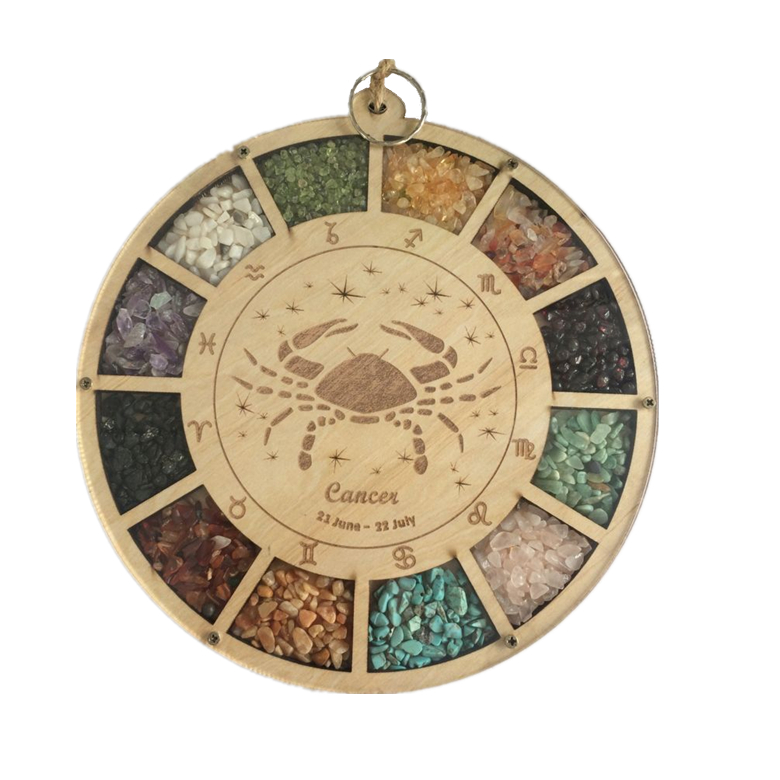 Promotion Constellation Compass Wooden Crafts Home Ornaments Christmas decor