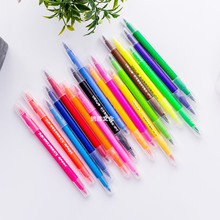 Amazon Hot Selling 36 colors Dual Tip Brush Pen Art Marker Type for drawing rich pigment
