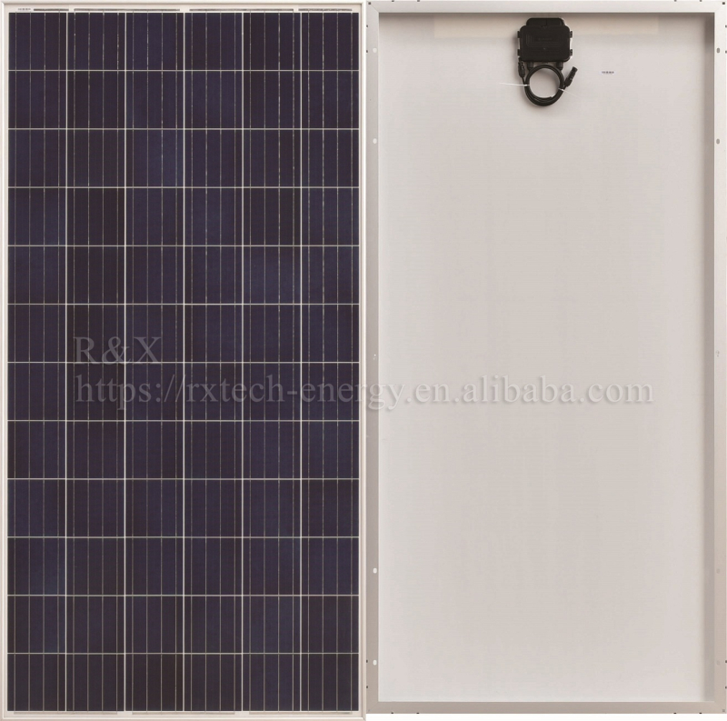 Polycrystalline Silicon Solar Panel 320W 72 Cells 25 Years Warranty Solar PV Module