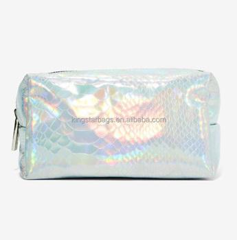 e540bcd0ad Silver Hologram Makeup Bag - Buy Hologram Silver Makeup Bag