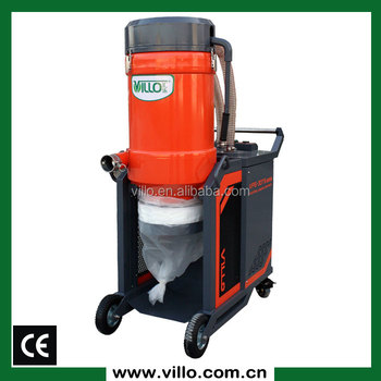 3 motors industrial vacuum cleaner system for floor for Best vacuum for cement floors