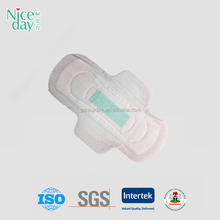 high quality thick sanitary pad herbal 49/anion sanitary napkins japan