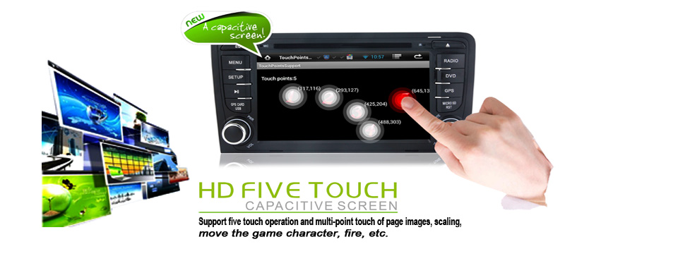 Pure android 4 2 car stereo dvd player cpu 1 6ghz ddr3 1gb memory 8gb - Oem A9 Quad Core Pure Android 5 1 1 Hd 1024 600 16gb