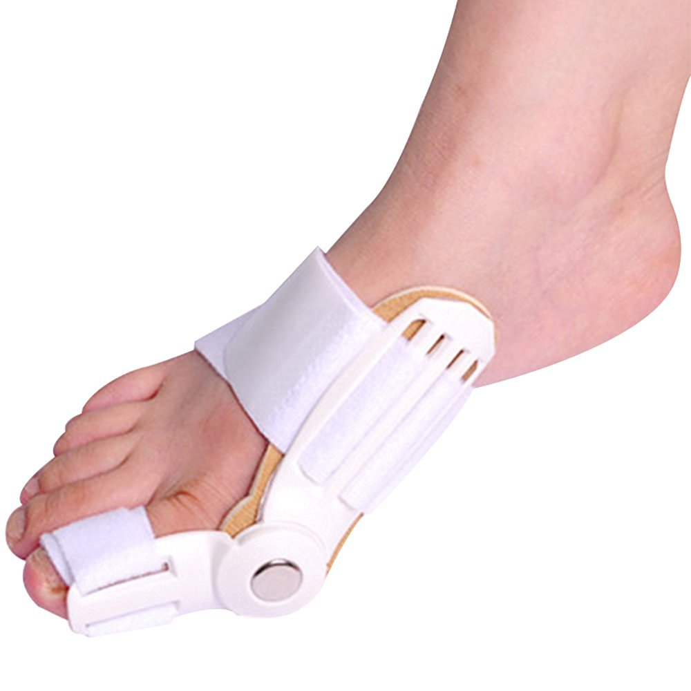 Buy Beyoung 1 Pair Hinged Splint Bunion Corrector Relief Hallux Valgus Correction 1pair Silicone Foot Fingers Toe Separator Thumb Protect Straightener Protector