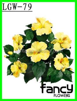 Wholesale Silk Artificial Hibiscus Flowers Buy Artificial Hibiscus