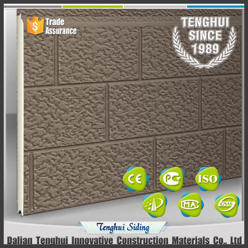 precio razonable calidad de lujo serie de piedra galvanizado fachada bordo con de