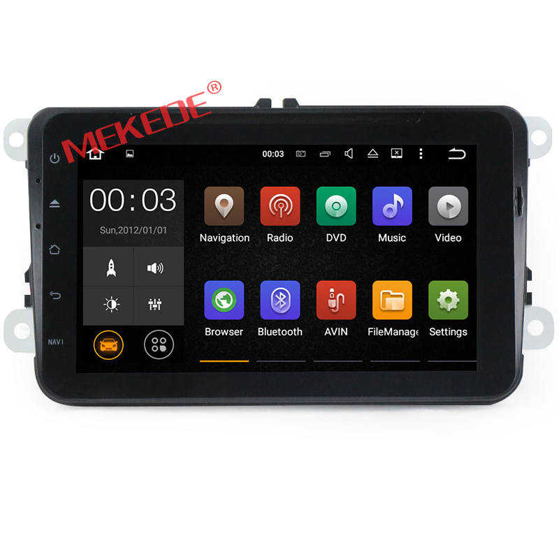 Android 6.0 2G RAM car dvd gps radio audio player for skoda yeti superb rapid fabia octavia roomster 2 din Quad core 4G LTE