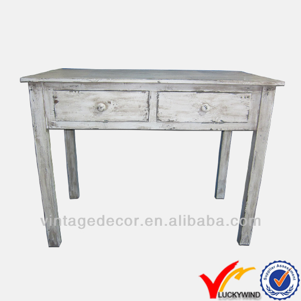 Best quality shabby n chic office furniture solid wood computer desk