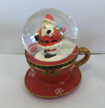 2017 hot sale christmas polyresin santa claus statue for deocration - Christmas Ceramics
