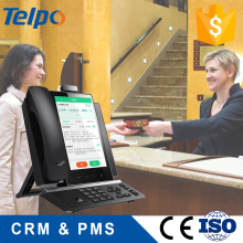 high-efficiency responsible hotel management system with android telephone