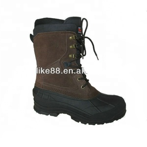 5dc42dca734 YL 2110 Men's canada winter snow boots with TPR outsole and removable foam  liner