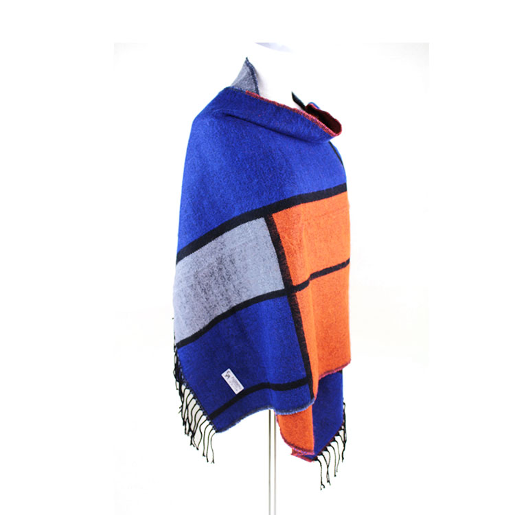 High Quality Cashmere Feel 100 Acrylic Ladies Winter Scarf Shawl