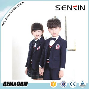 Hot Sale Kindergarten School Uniform Korean Winter School Girls Uniform Pictures