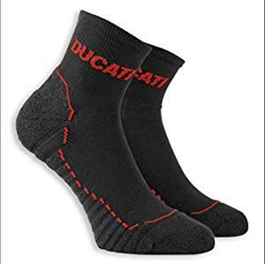 Ducati Comfort Low Cut Tech Socks Black 43-46 US 10-12