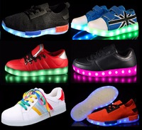 Very nice very fashion so awesome high quality comfortable christmas gift shoes led