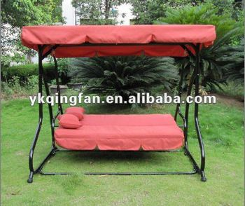 Garden Swing Hammock With Canopy