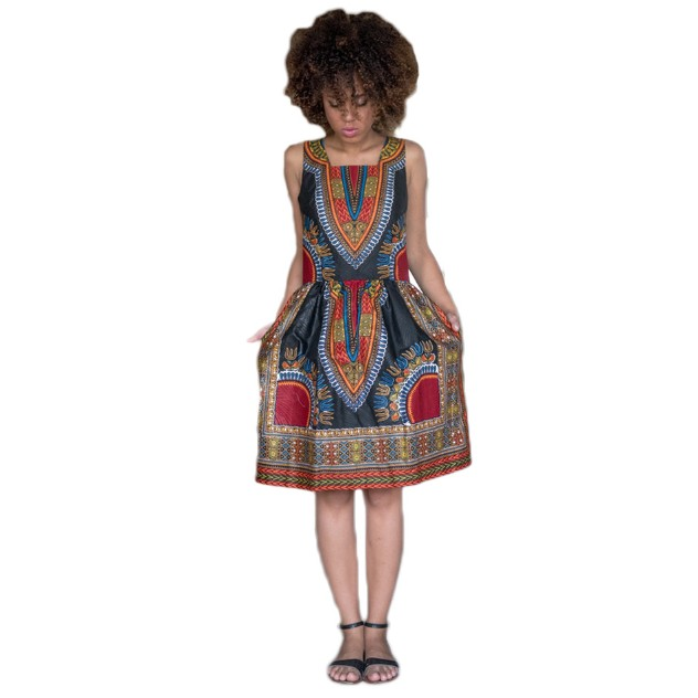 zm23636a new hottest summer african dress patterns printed clothing women