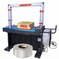 Automatic PP PET Belt Packing Bundling Strapping Machine