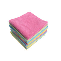 Professional Supplier Wholesale Home Microfibre Cleaning Towel Microfiber Cleaning Cloth 10PK Set