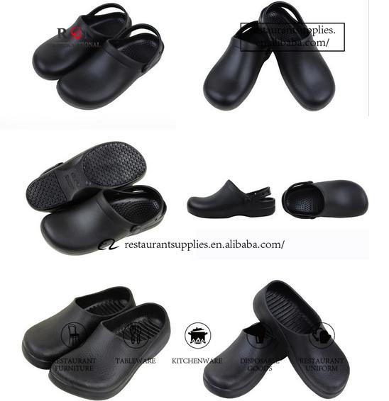 Non Slip Sepatu Chef Dapur Keselamatan Kulit Untuk Restoran Product On Alibaba