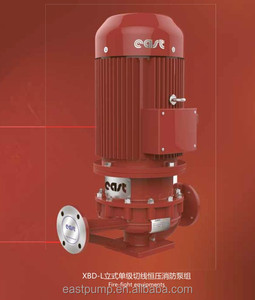XBD-L vertical fire-fight pump set for fire fighting construction municipal works mine with famous brand