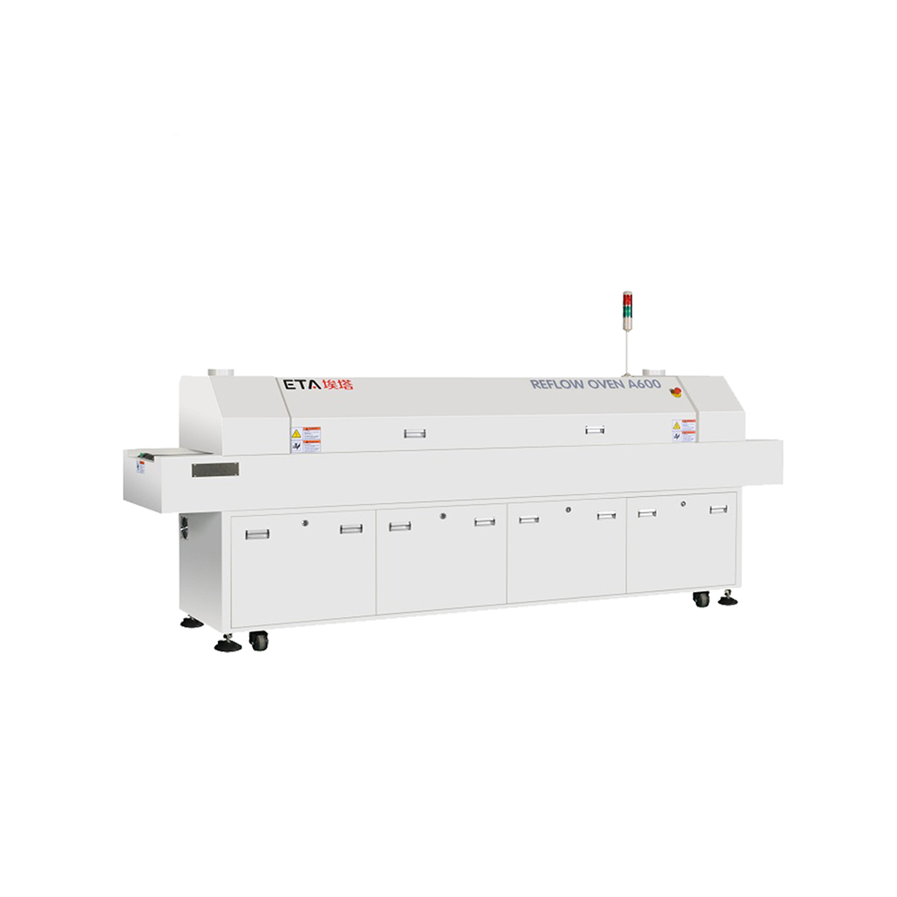 SMT Lead-Free Reflow Soldering Oven Machine for LED Making