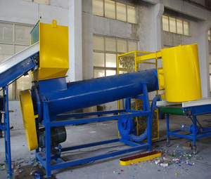 New-style plastic and nylon recycling machine
