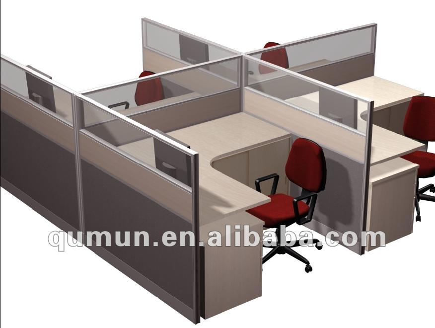 Office Furniture Traditional Cost Competitive Cubicle Workstation ...