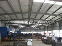 modular steel building for warehouse storage systems