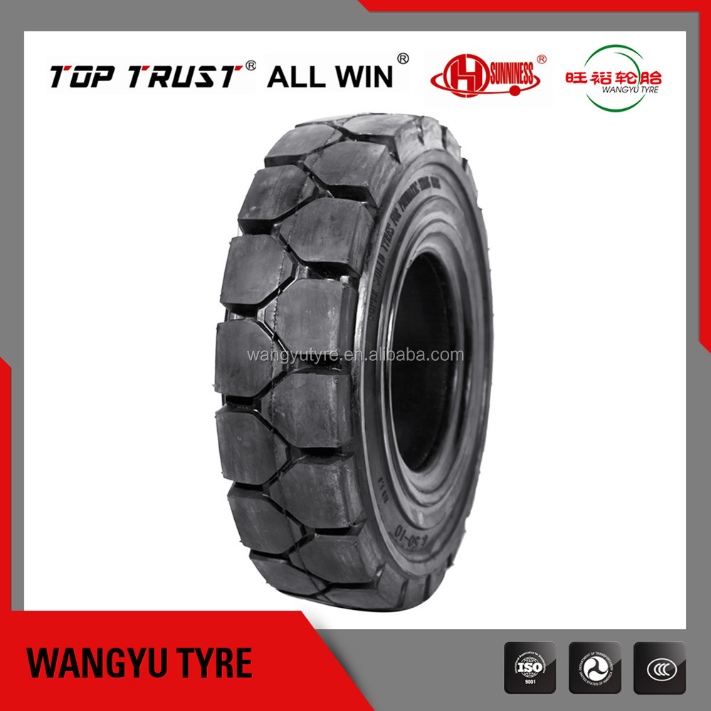 China Forklift Solid Tyre price 6.00-9