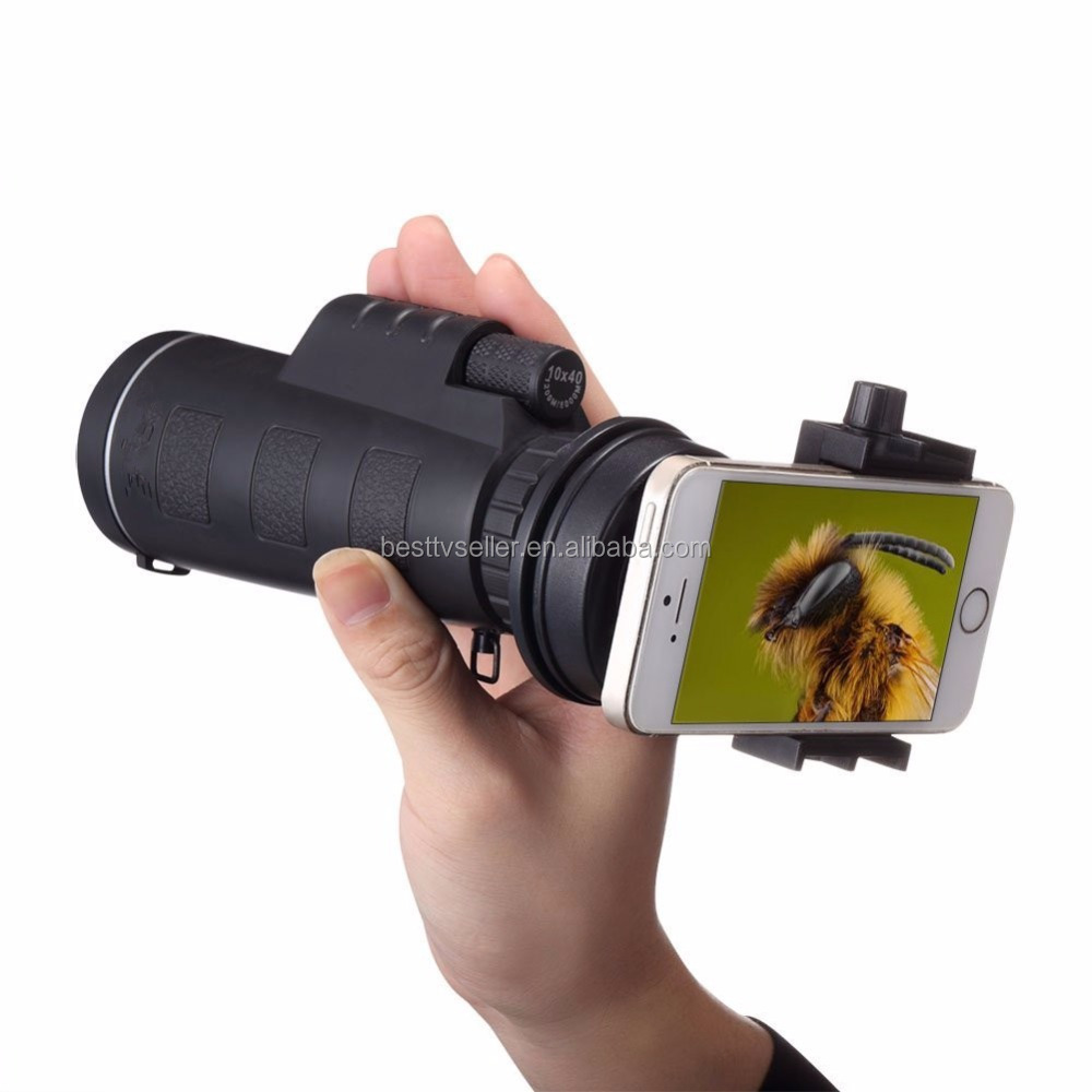 Telescope Phone Lens, Opard 10X Optical Monocular High Definition Telephoto Grip Scope