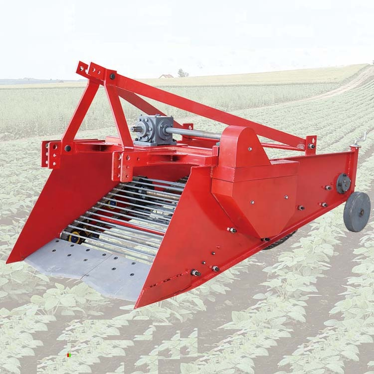 High efficiency medicinal rhizome root herb harvester