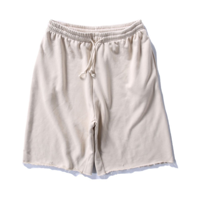 Men Summer Casual Oversized French Terry Spandex Shorts