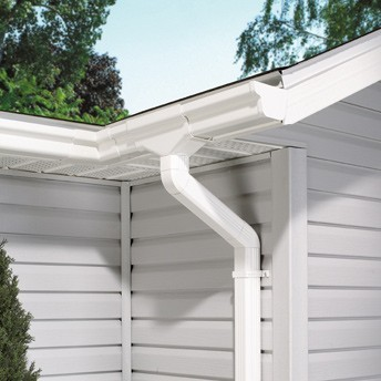 Pvc Water Collector Buy Pvc Rain Gutter System Product