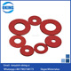 Red color fibre washer with good quality