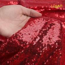Ткань с блестками из серебра/розового золота, двухсторонняя эластичная ткань с вышивкой из спандекса, ткань с блестками для шитья платьев(Китай)