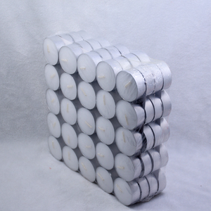 Unscented Tea Lights 100/Pkg White tealight candles