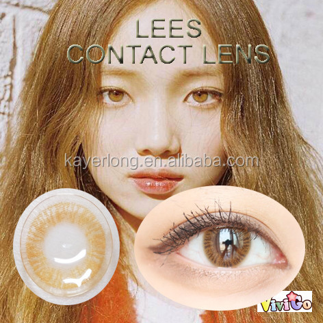 new arrival one tone pure LEES korea style contact lenses