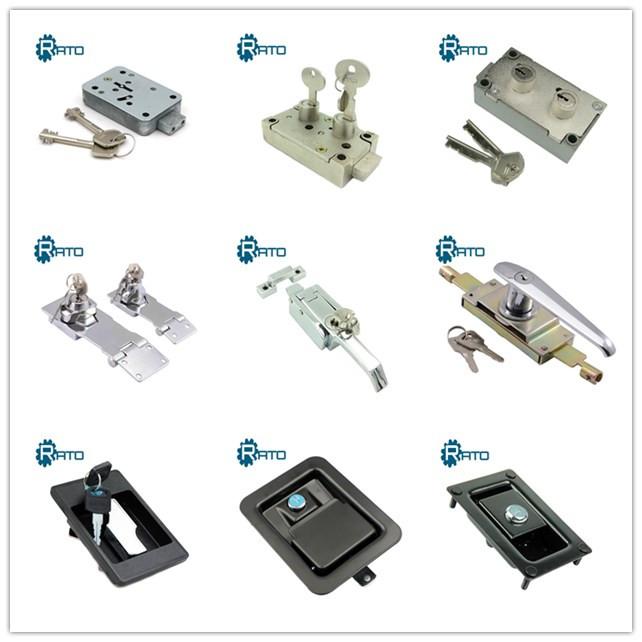 Stainless Steel Alat Kotak Kanopi Kunci Dayung Handle Lock